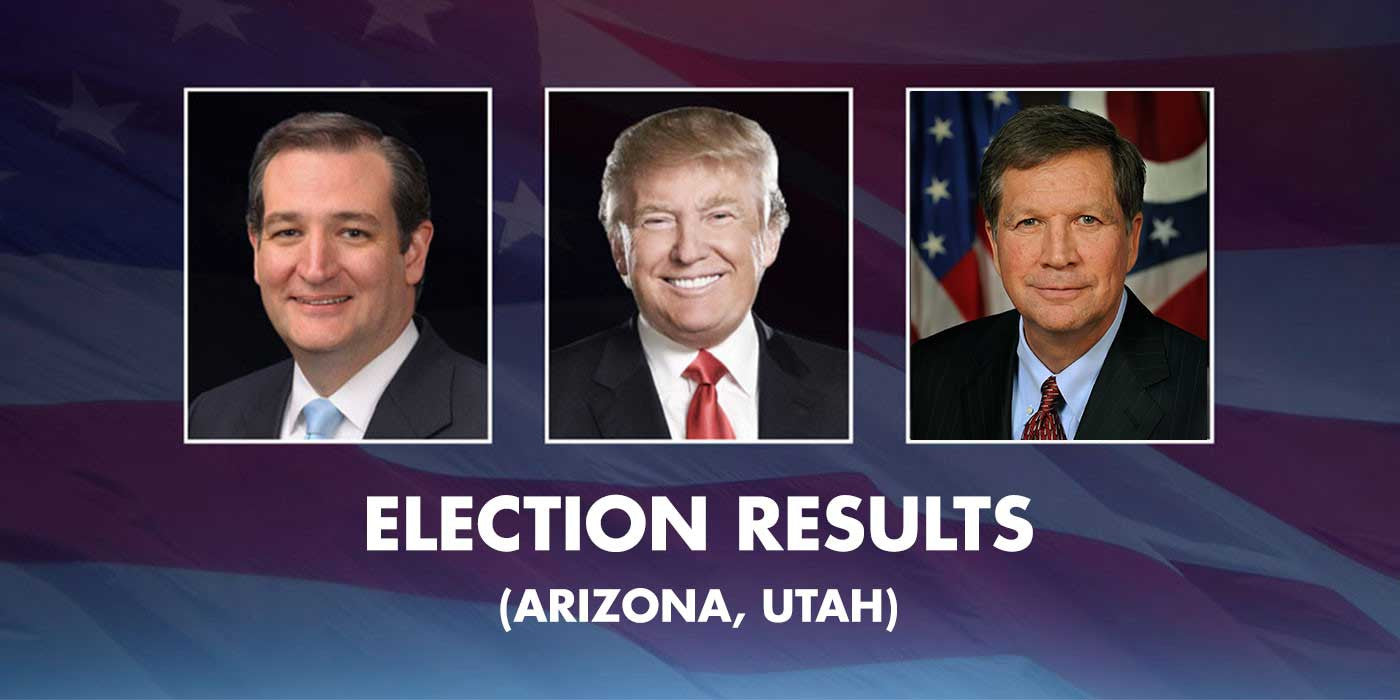Election Results (ARIZONA, UTAH, IDAHO)