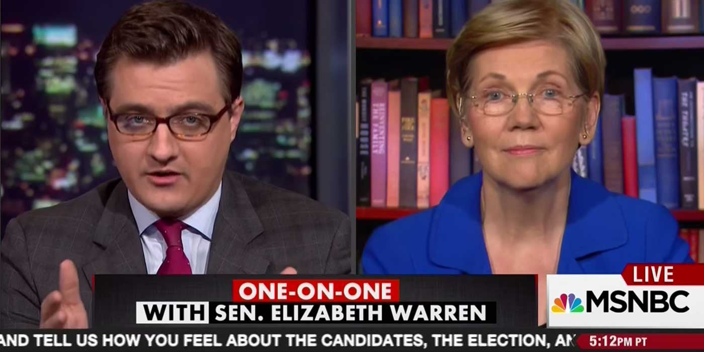 Elizabeth Warren Still Refuses To Endorse Hillary Clinton