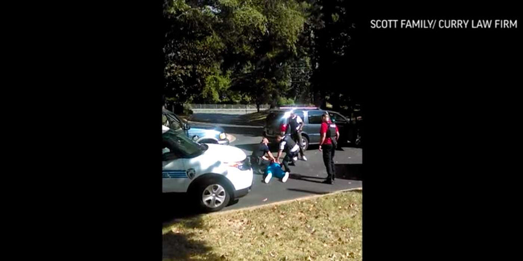 Footage released of police shooting Keith Lamont Scott (RAW VIDEO)