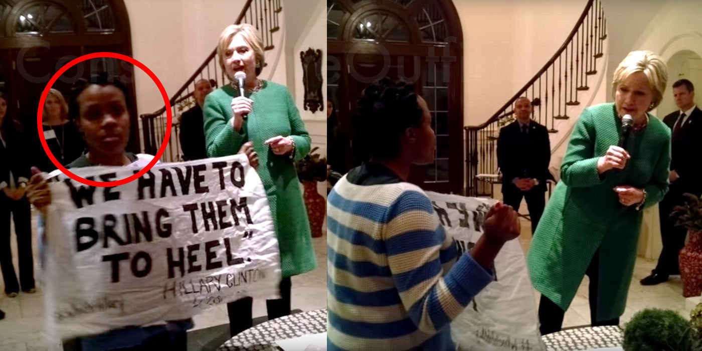 Black Lives Matter Attacked Hillary.. See What Happened