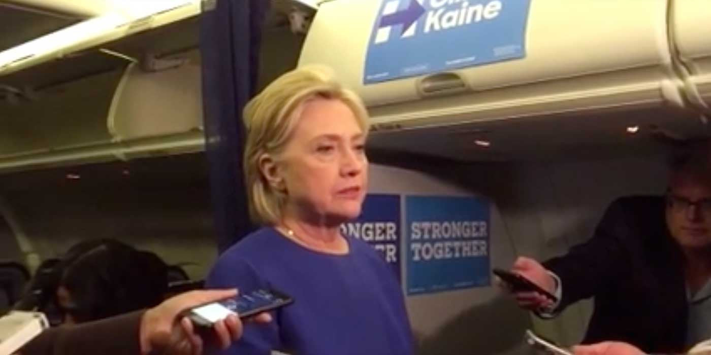 "Hillary slams Trump for saying ""Bomb"" after she uses the word (VIDEO)"