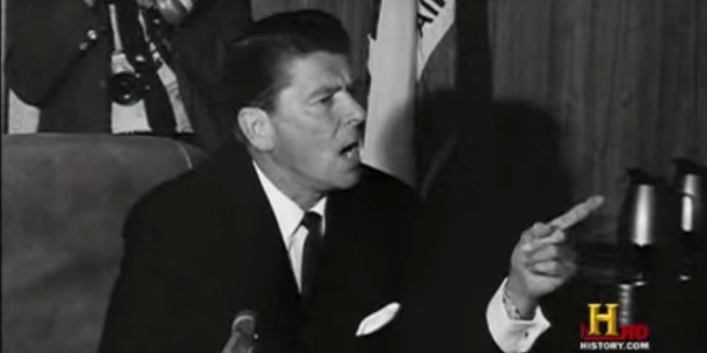 How Ronald Reagan dealt with the Berkeley protesters