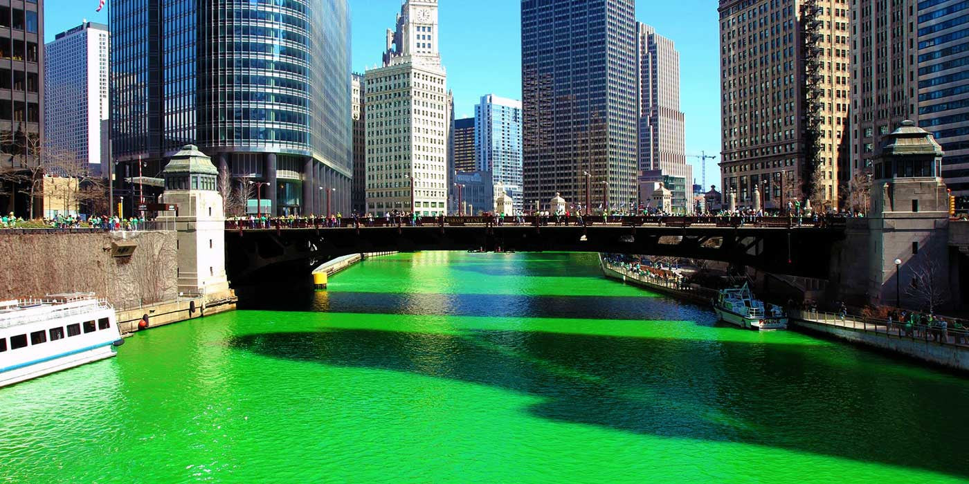 VIDEO: How do they dye the Chicago River green?