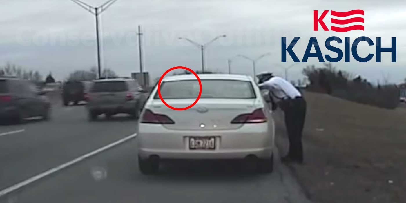 Sheriff Posts Video of John Kasich Getting Pulled Over