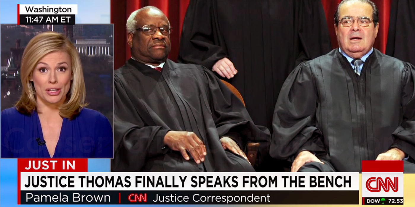 Justice Clarence Thomas Asks First Question in 10 Years