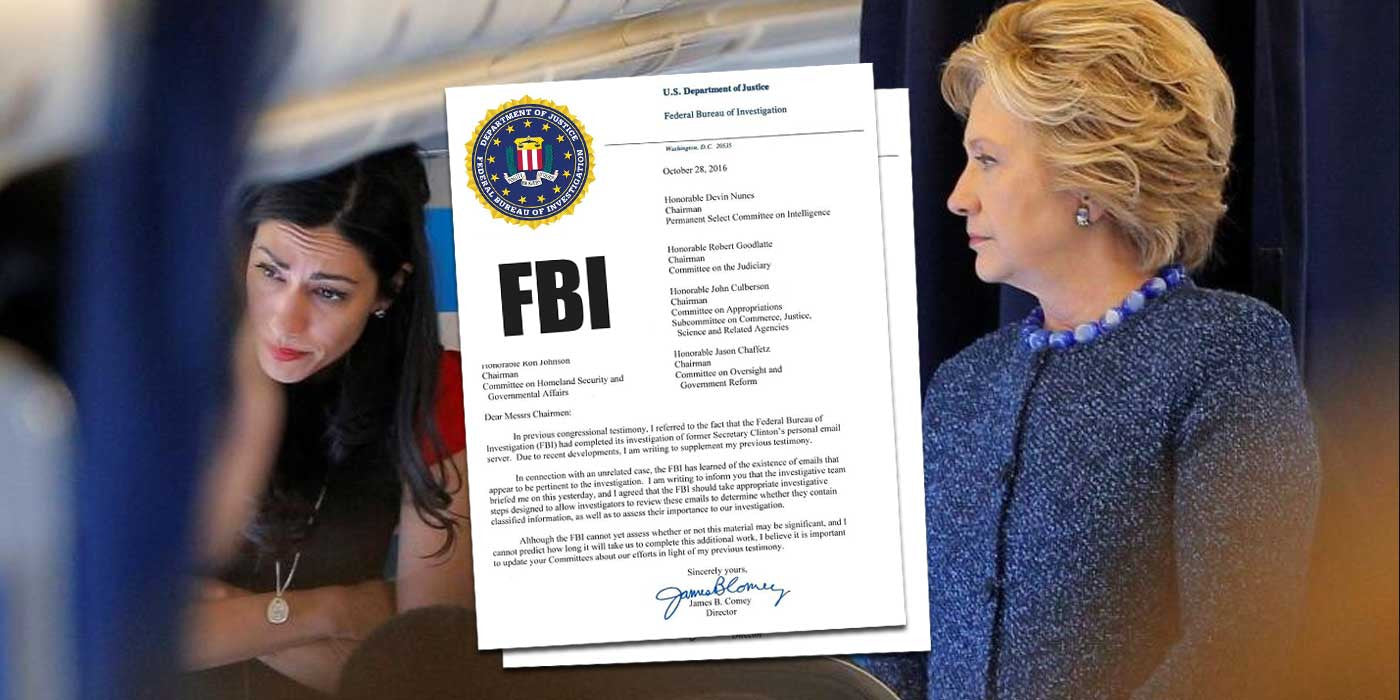 LEAKED: FBI Director's Internal Letter About Hillary Investigation