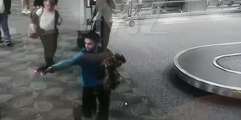 LEAKED: First video of Ft. Lauderdale Airport Shooting (RAW FOOTAGE)