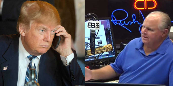 LISTEN: Donald Trump Called Rush Limbaugh Today (FULL AUDIO)
