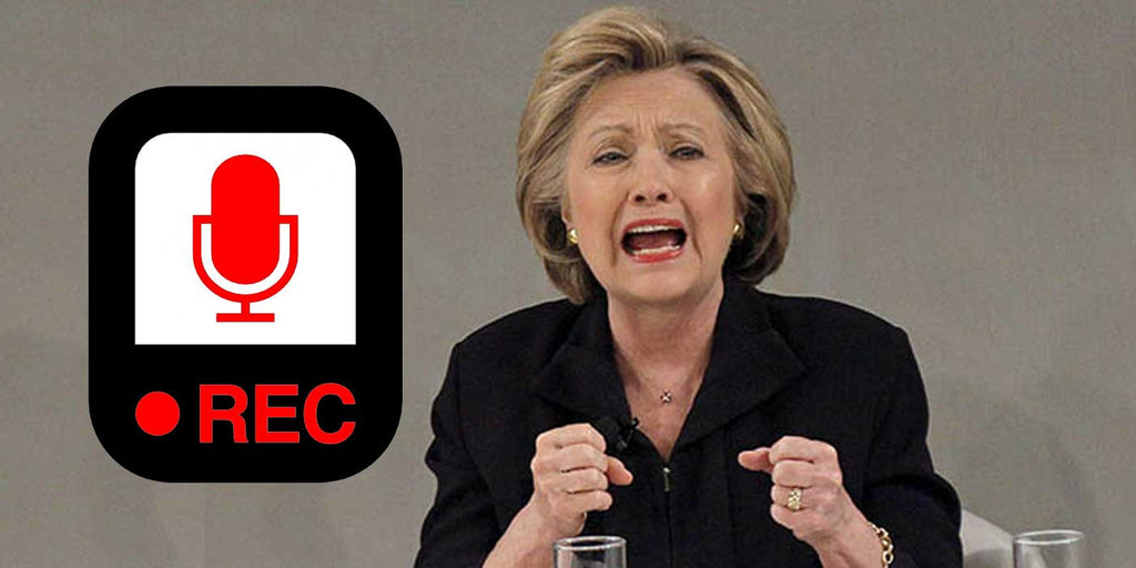 LISTEN: Hillary Clinton Blames Everyone But Herself (AUDIO RECORDING)
