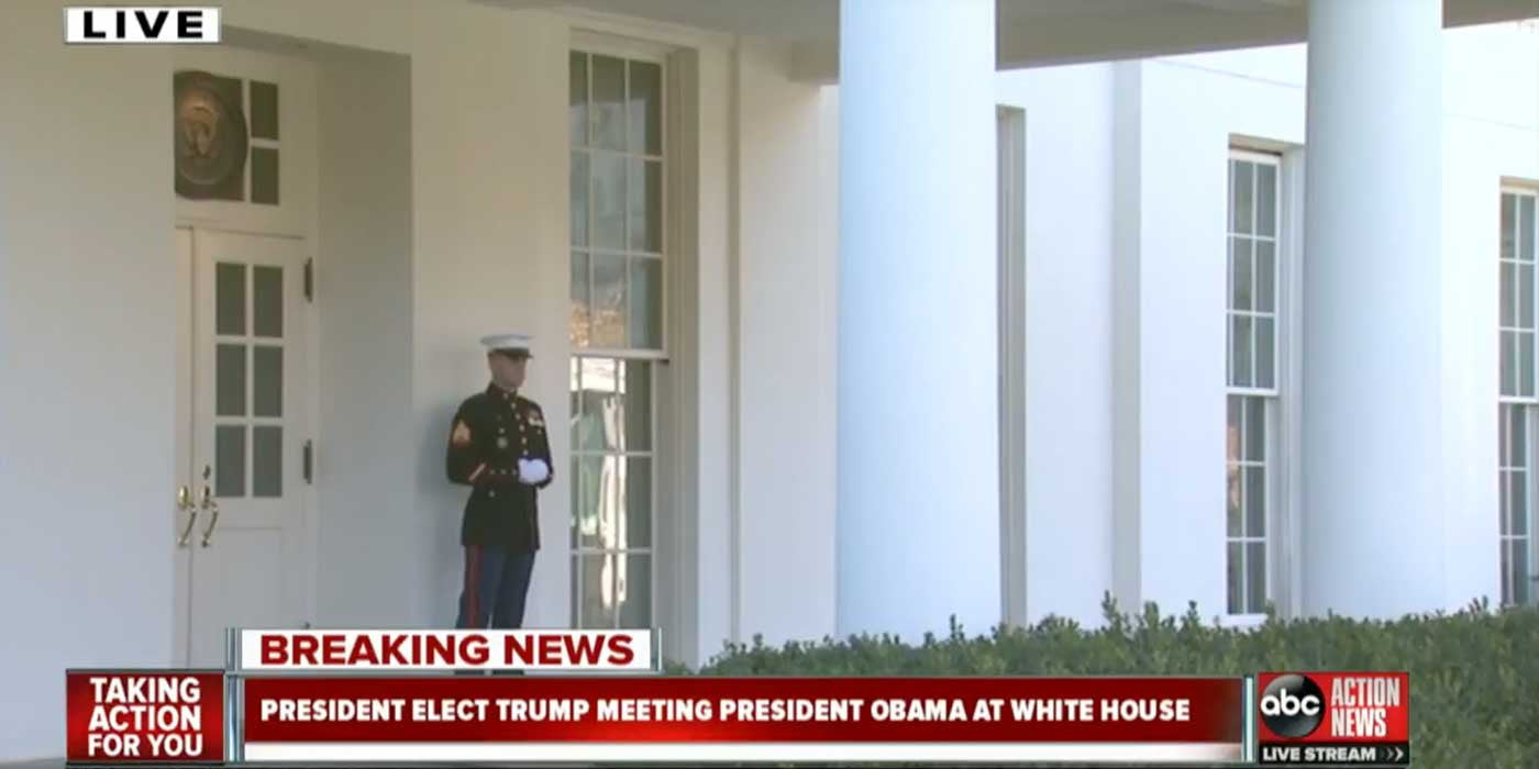 LIVE: Donald Trump Meets With President Obama at White House (VIDEO)
