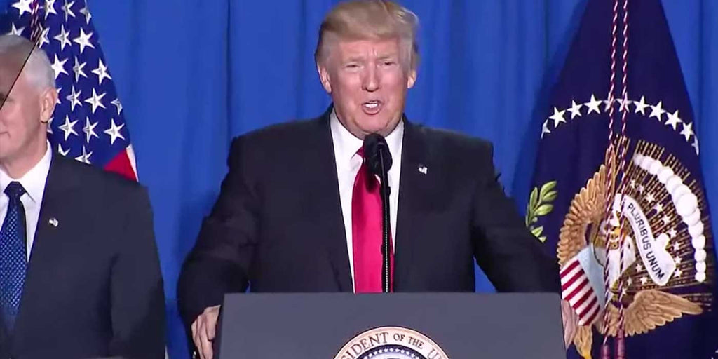 LIVE: President Donald Trump Announcement at Department of Homeland Security