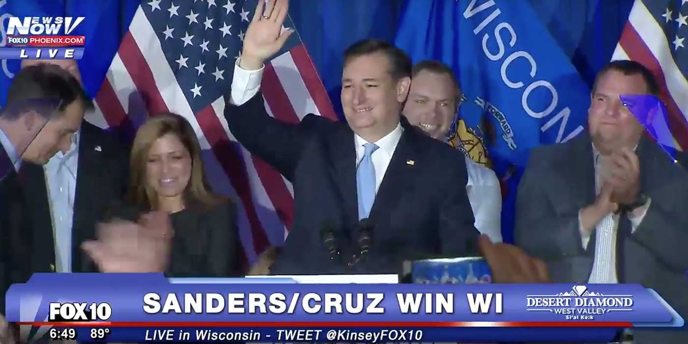 LIVE: Ted Cruz Victory Speech (Wisconsin)