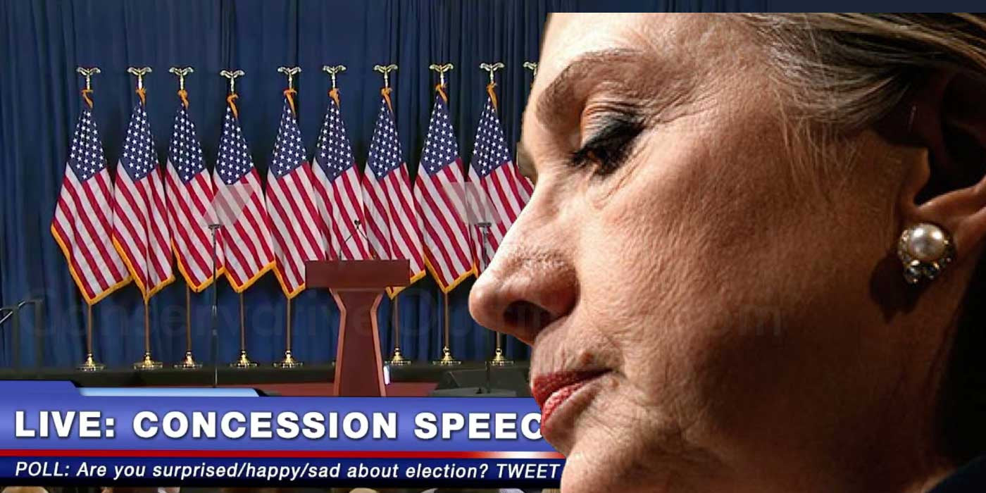 WATCH: Hillary Clinton's Concession Speech (VIDEO)