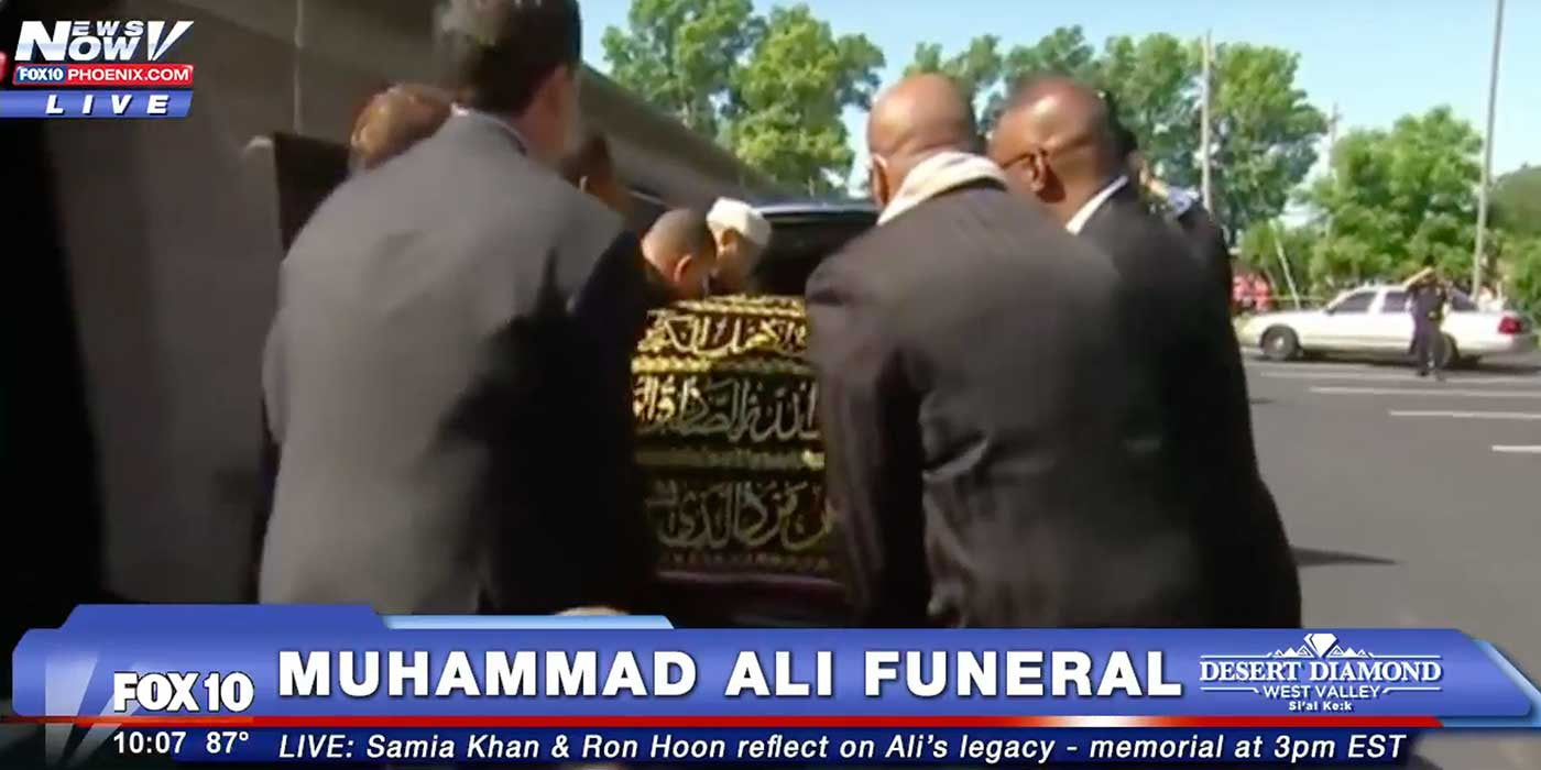 LIVE STREAM: Muhammad Ali Funeral Procession and Memorial Service