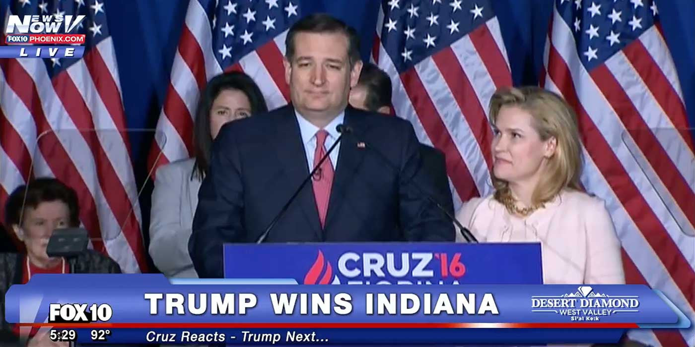 BREAKING: Ted Cruz Suspends Campaign