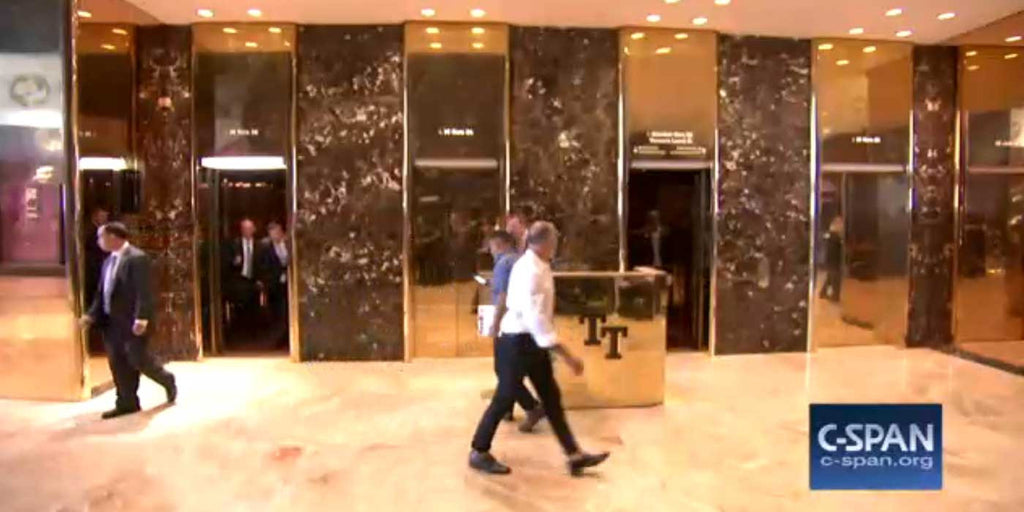 LIVE STREAM: Trump Tower Lobby and Elevator Feed (VIDEO)