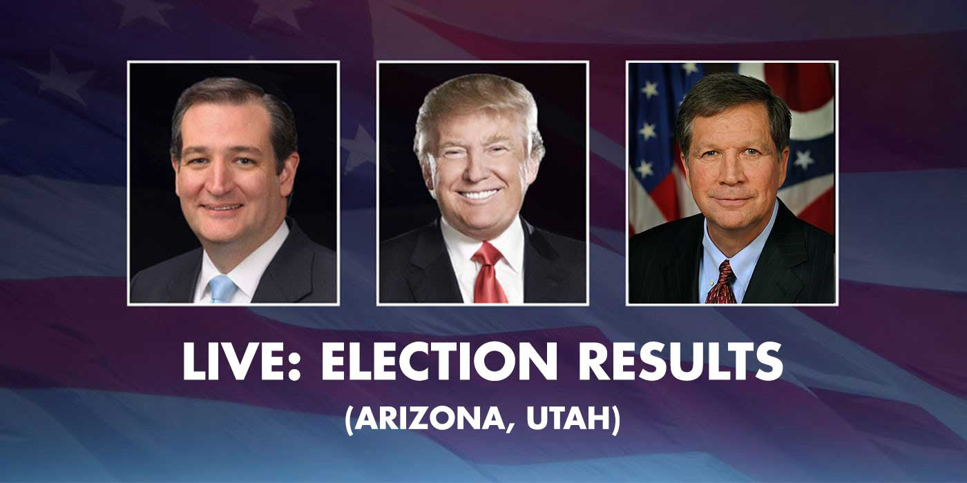 LIVE STREAM: Election Results (ARIZONA, UTAH)