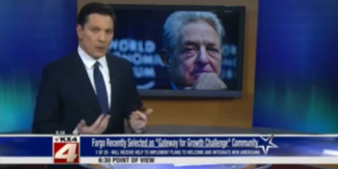 Local TV Anchor Exposes Soros Pushing For Open Borders