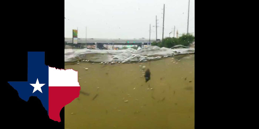 VIDEO: Man Drives Hummer H1 Through Texas Flood