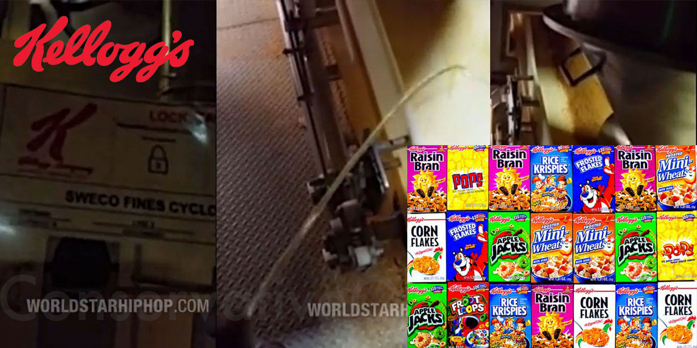 Kellogg's Just Learned A Man Urinated On Cereal In 2014