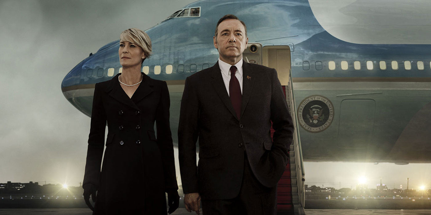 Netflix just released the new season of House of Cards