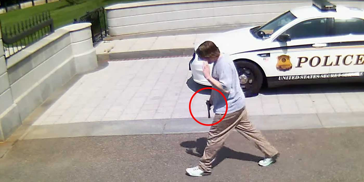 New Video Shows How Secret Service Stopped Attack Outside White House