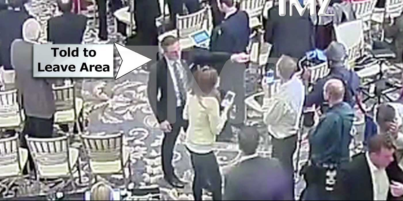 NEW VIDEO: Secret Service Told Michelle Fields To Leave