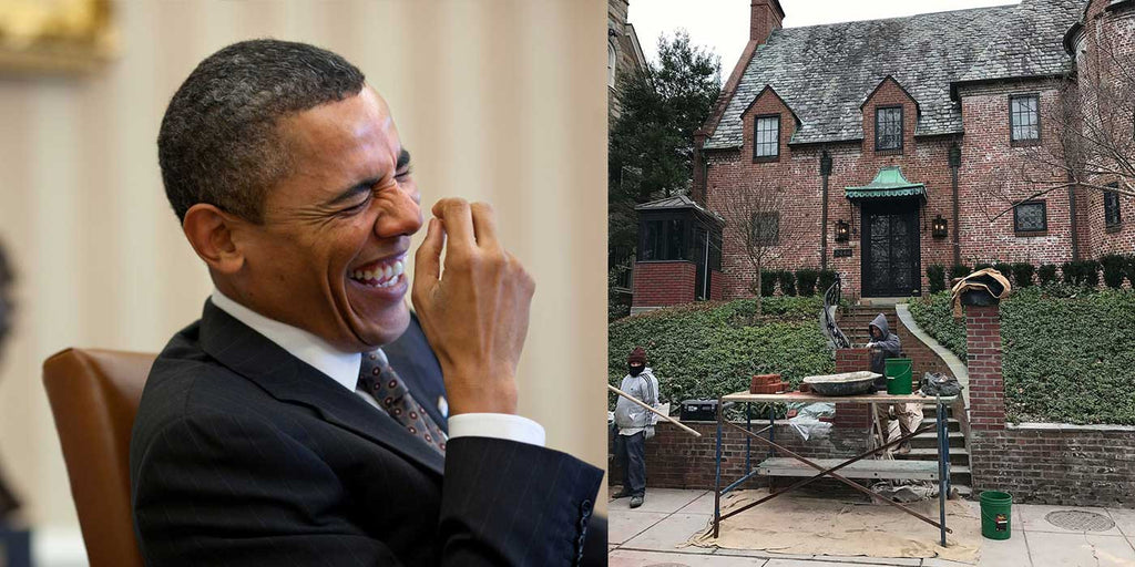 Obama Builds Wall Around New $5 Million Dollar Mansion (PHOTOS)