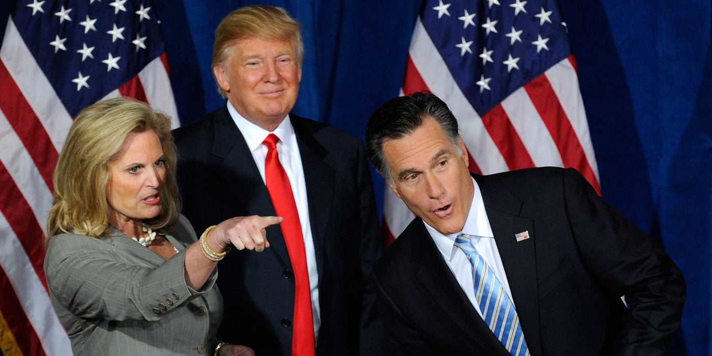Once upon a time Mitt Romney praised Donald Trump