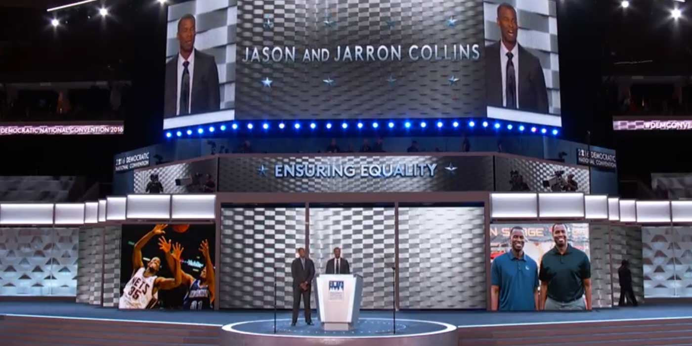 One Thing Is Missing On Stage At The Democratic National Convention