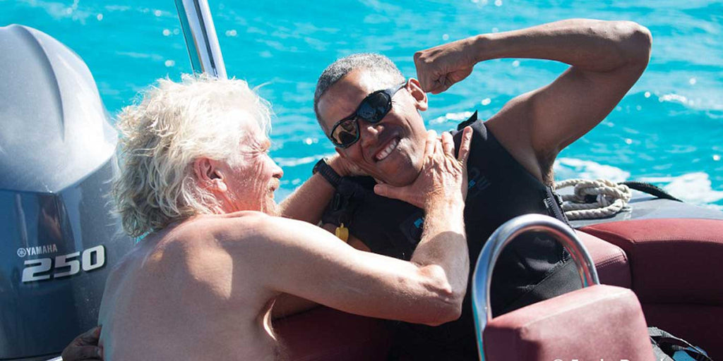 PHOTOS: Barack Obama like you've never seen him before...