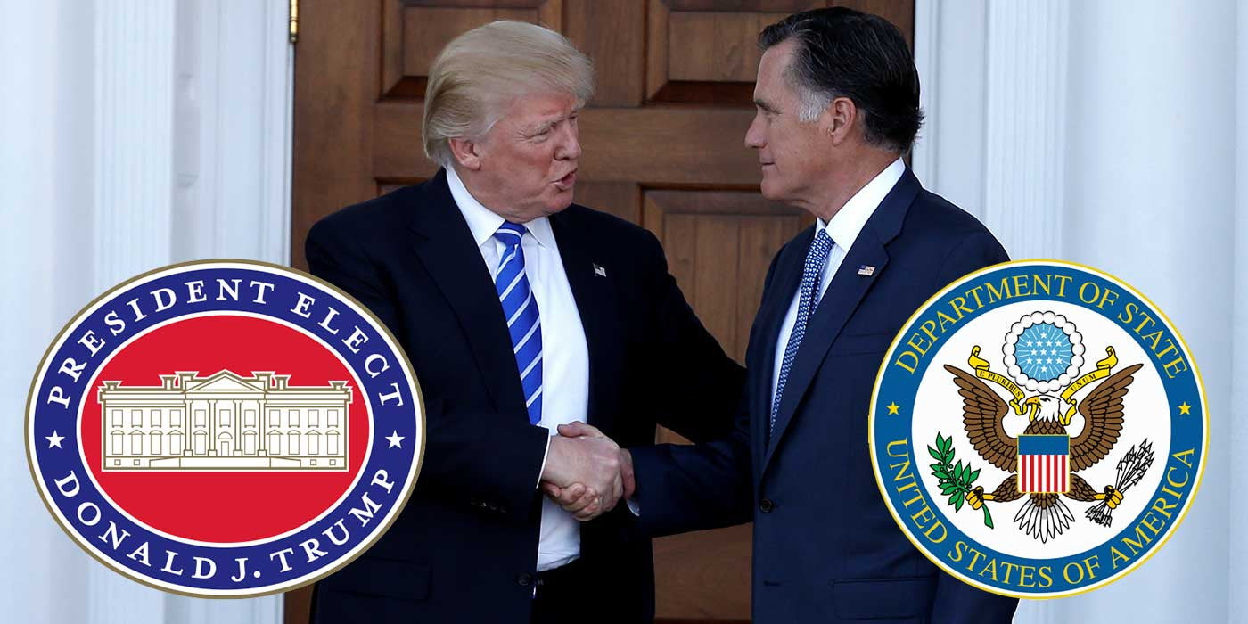 POLL: Should Mitt Romney be Donald Trump's Secretary of State?