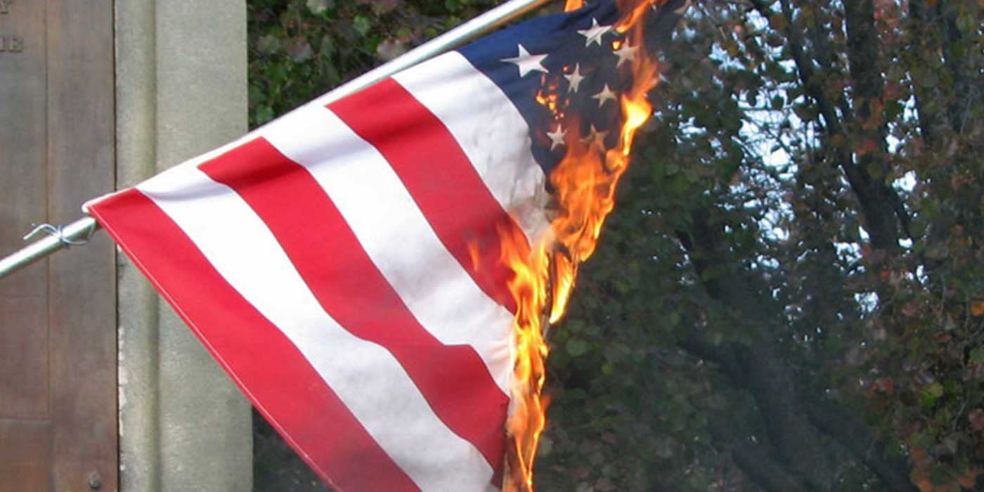 POLL: Should it be illegal to burn the American flag?