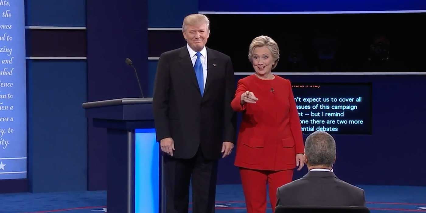 Image result for 2016 presidential debate 1