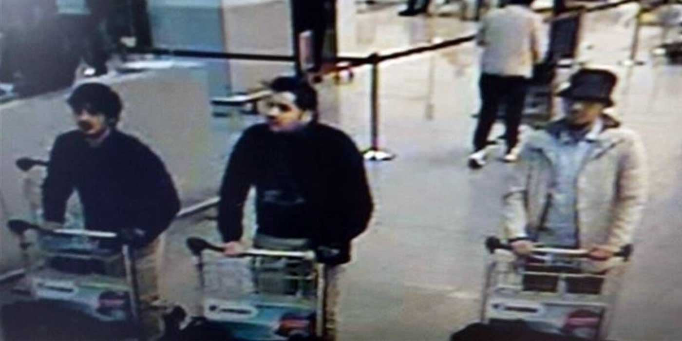 Police Release Photo of Brussels Terror Attack Suspects