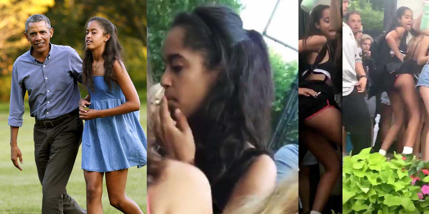 President Obama Scolds First Daughter For Smoking Weed At Concert