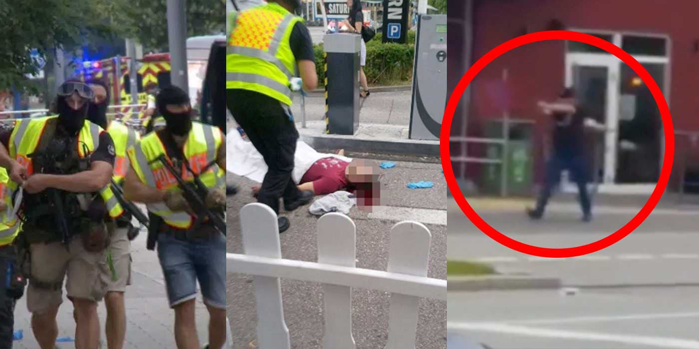 Raw Video Shows Munich Terrorist Shooting People Outside McDonalds