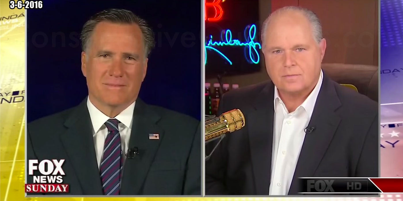 Rush Limbaugh: Trump Has Bigger Upside Than Downside