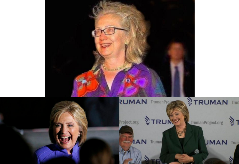 WIGGED OUT: HILLARY CLINTON gives up HAIR BATTLE according to DRUDGE