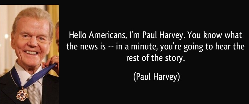 "Paul Harvey: ""Policeman"""
