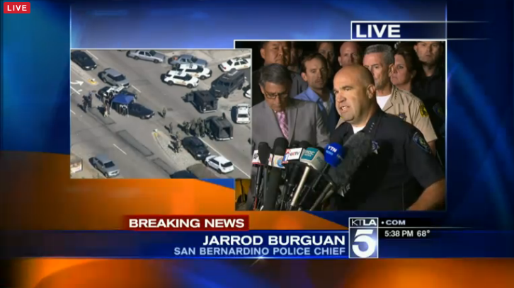 LIVE STREAM: San Bernardino Press Conference