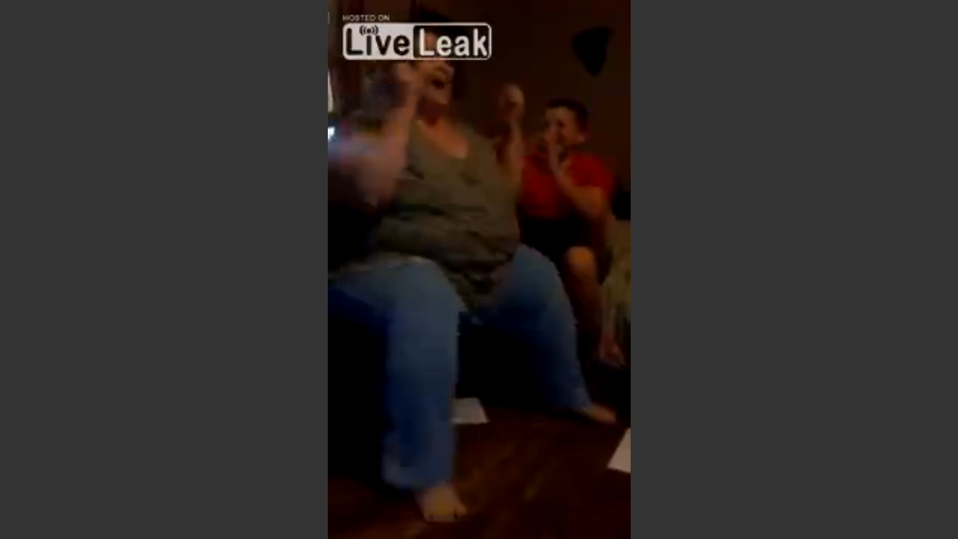 VIDEO: American Woman Goes Crazy When She Is Approved For Welfare