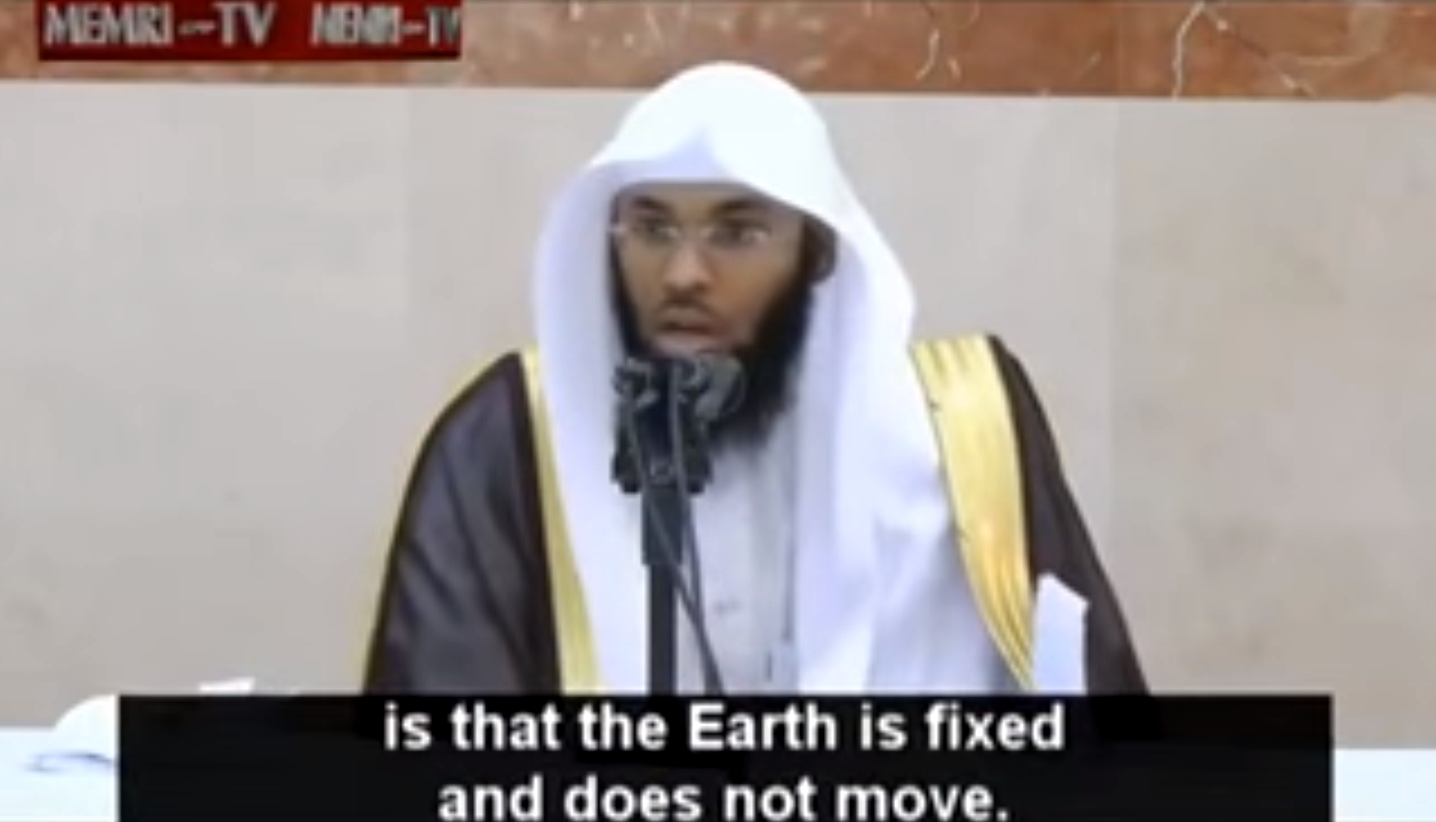 VIDEO: Islamic Cleric Tells Muslim Followers The Earth Does Not Rotate