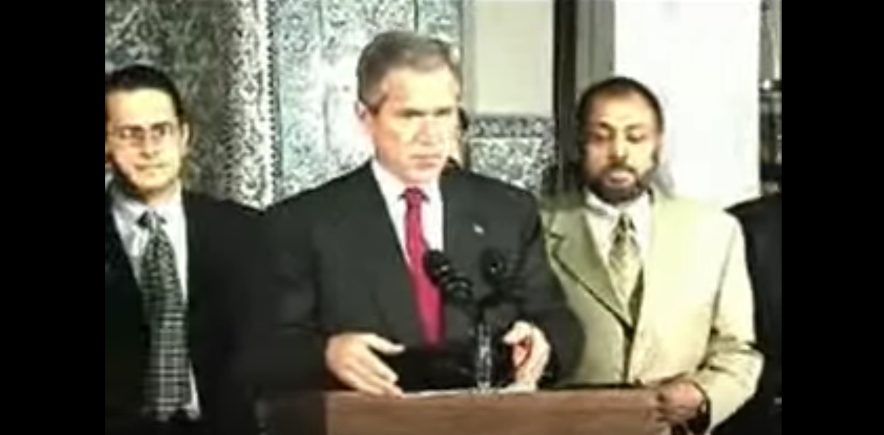 What President Bush Had To Say About Muslims Days after 9/11 (Video)
