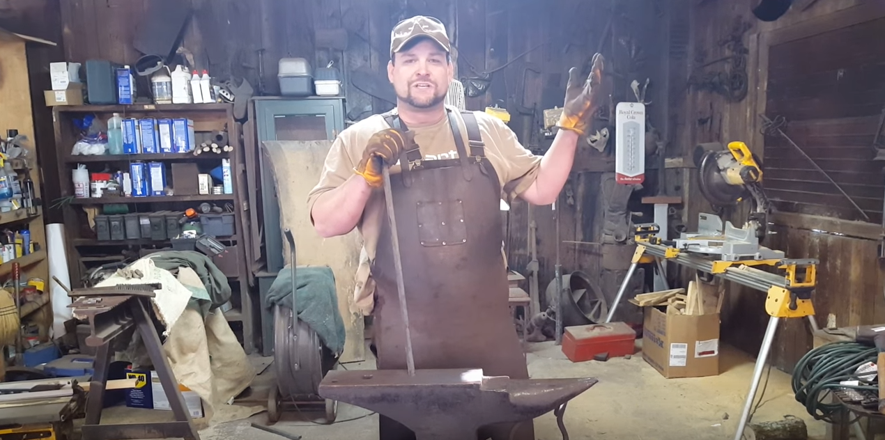 VIDEO: Blacksmith settles the debate: CAN JET FUEL MELT STEEL BEAMS?