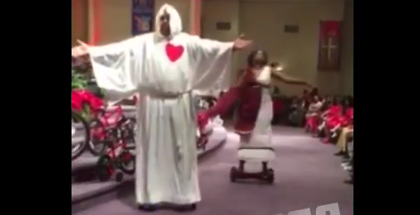 Worshipers Now Using Hoverboards During Church?