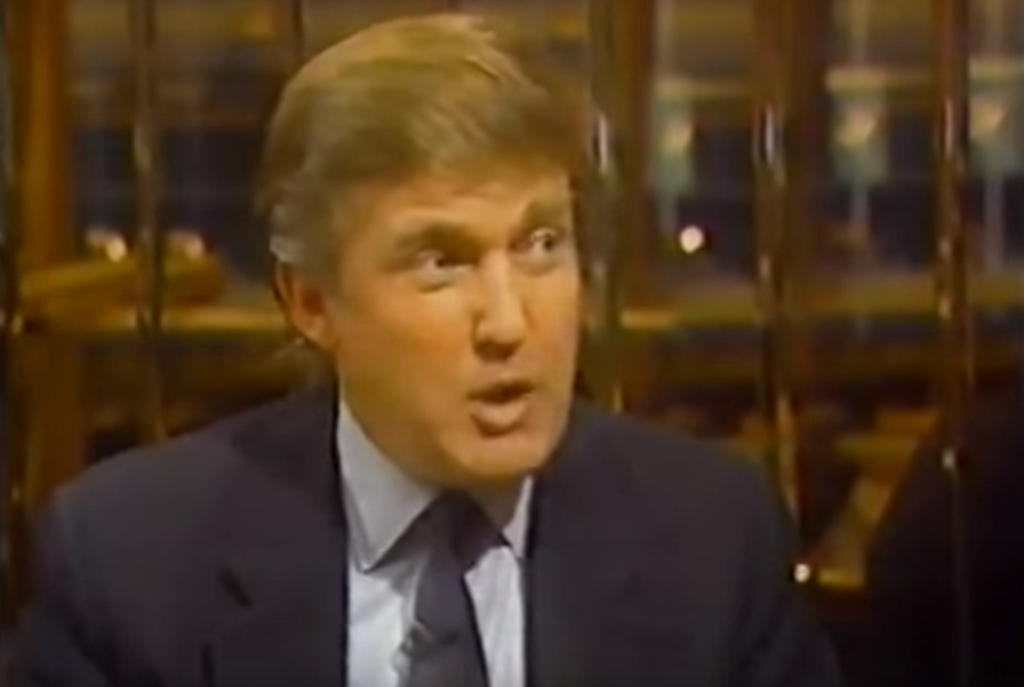Long-Lost Donald Trump Interview Found From 25+ Years Ago
