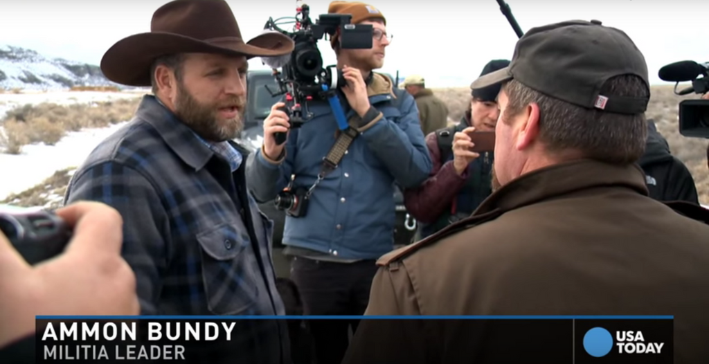 Face to Face: Bundy Meets with Sheriff and Refuses to Leave Oregon