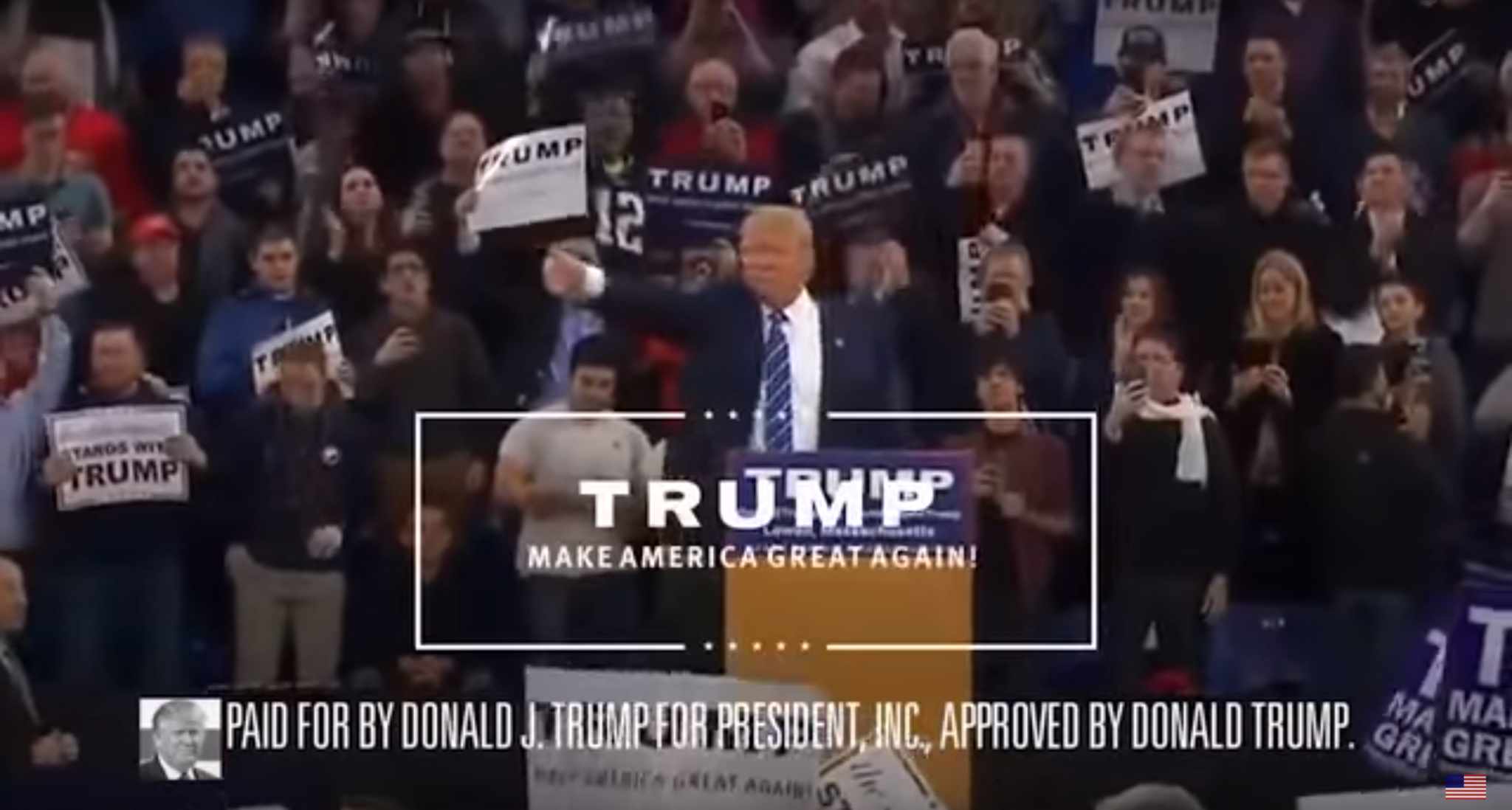 New Official Donald Trump 2016 Campaign Ad (Video)