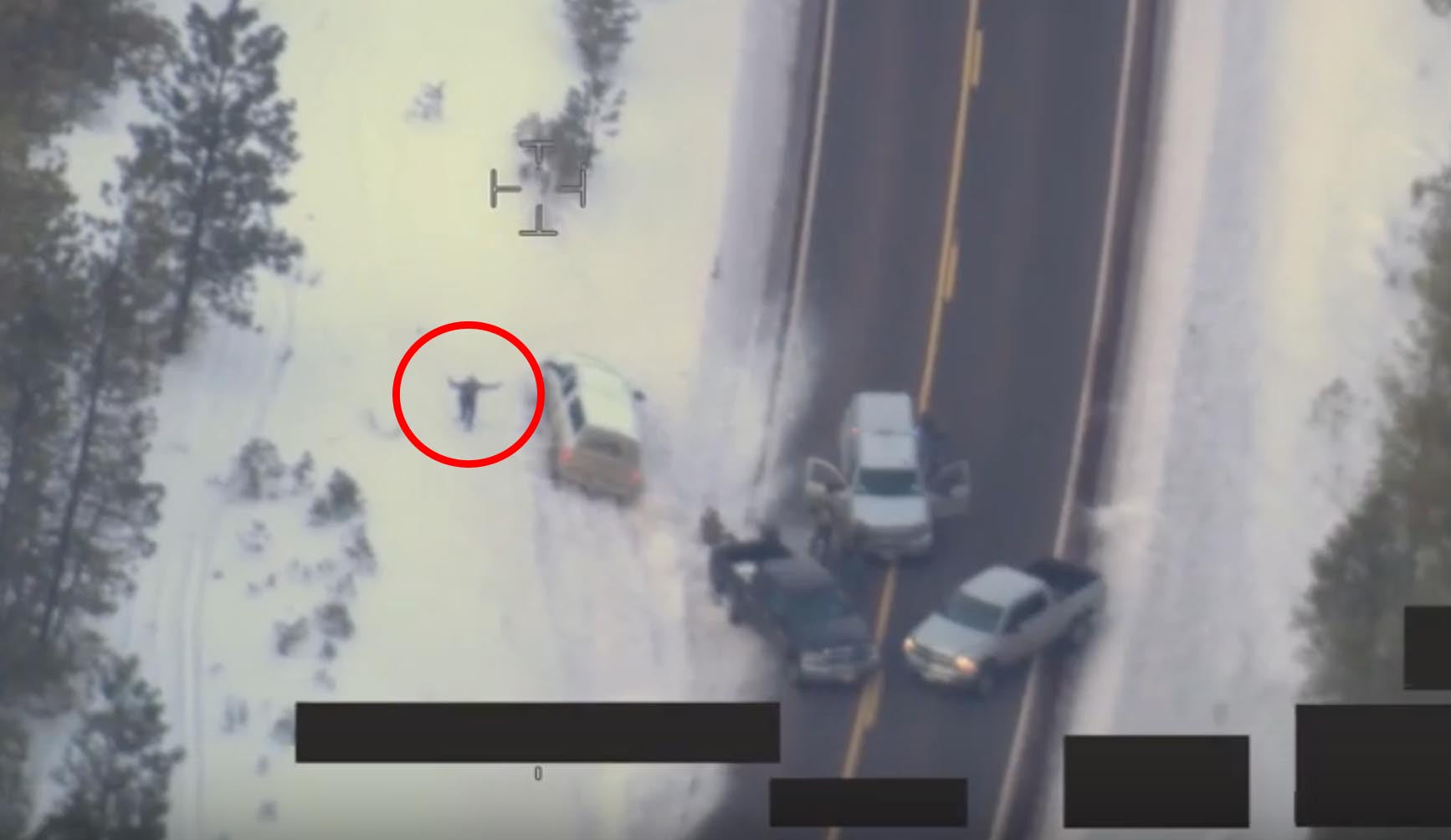 UNEDITED VERSION: FBI Releases Drone Footage of Oregon Militia Shooting